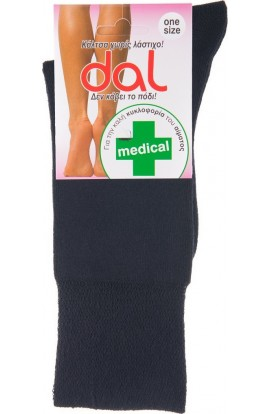 1013 MEDICAL SOCKS- BLACK
