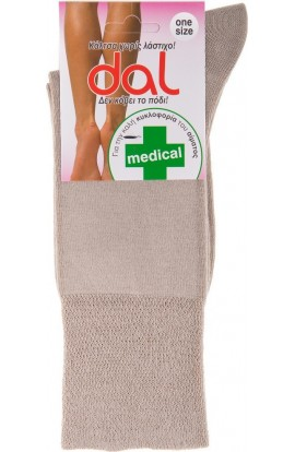 1013 MEDICAL SOCKS- BEIGE
